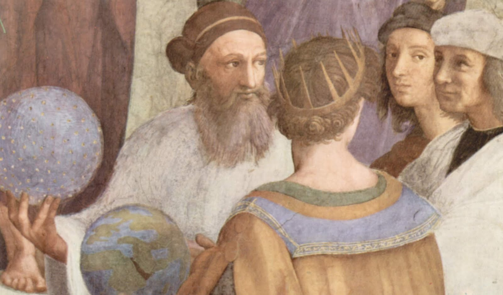 Zoroaster & the School of Athens